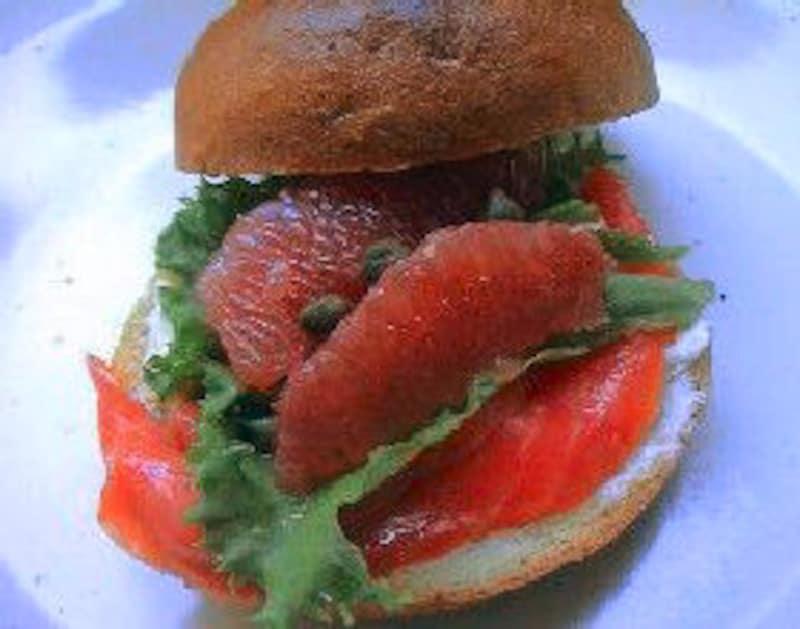 ベーグルサンド弁当(おかずレシピ)