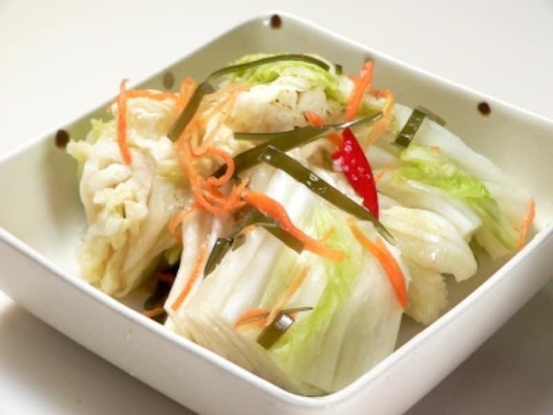 白菜の漬物の作り方!にんにくを使った本漬けレシピ