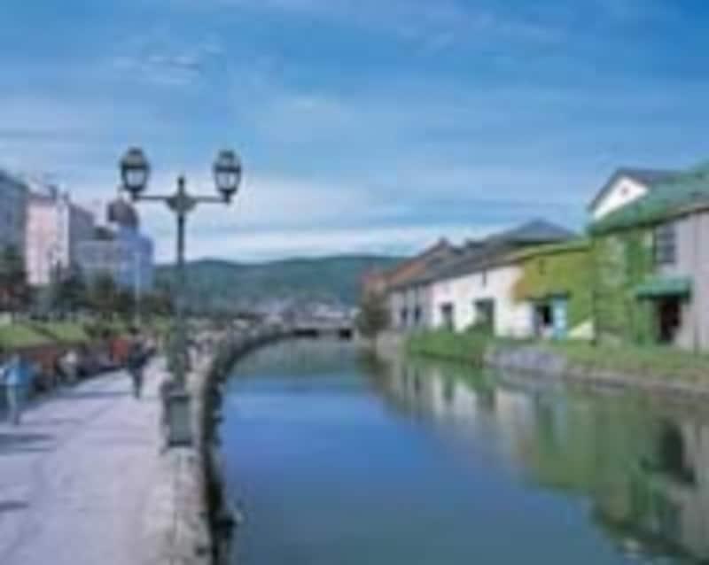 小樽のシンボル、小樽運河