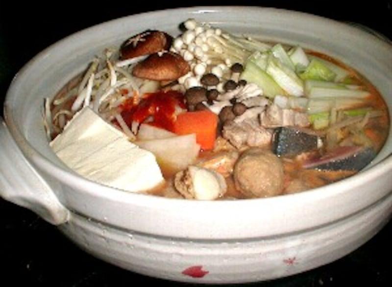 韓国風寄せ鍋