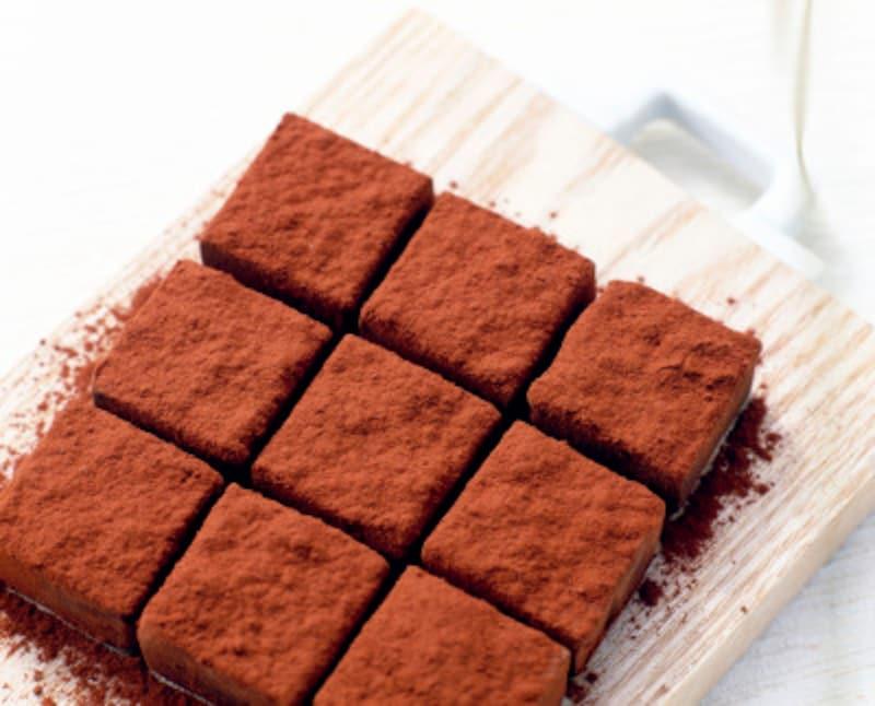 生チョコのレシピ……難易度普通