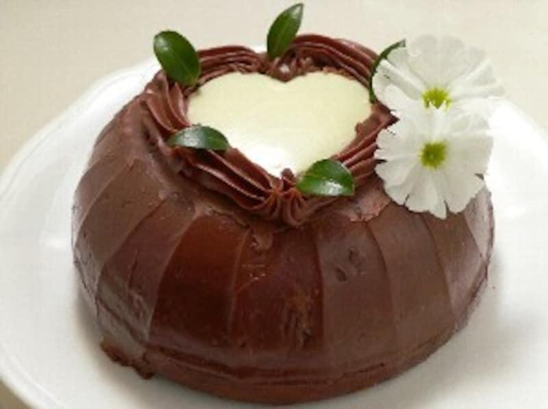 スイートハートのチョコケーキ