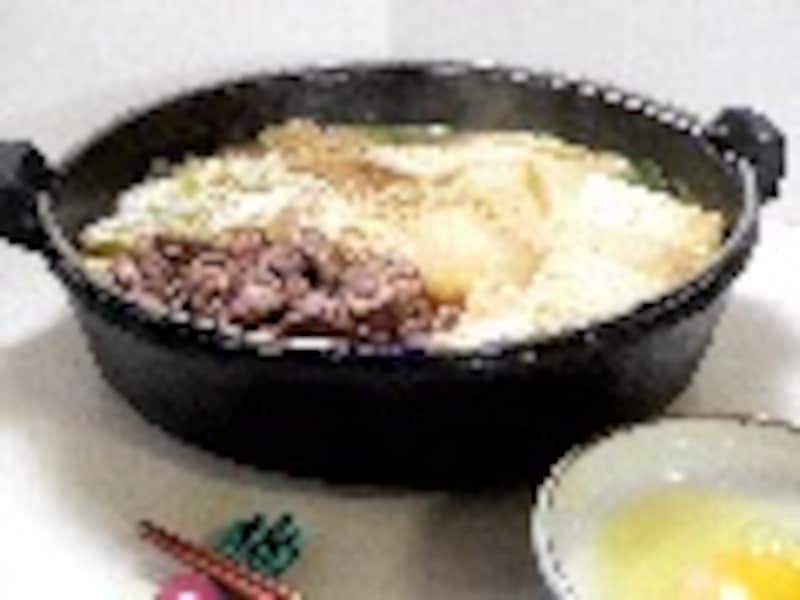 牛の土手鍋