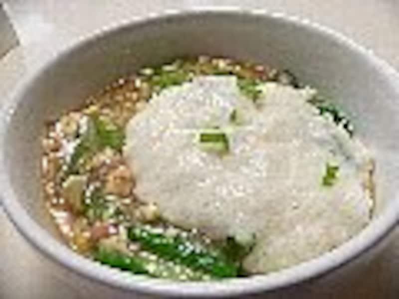 キャベツの豆腐あん