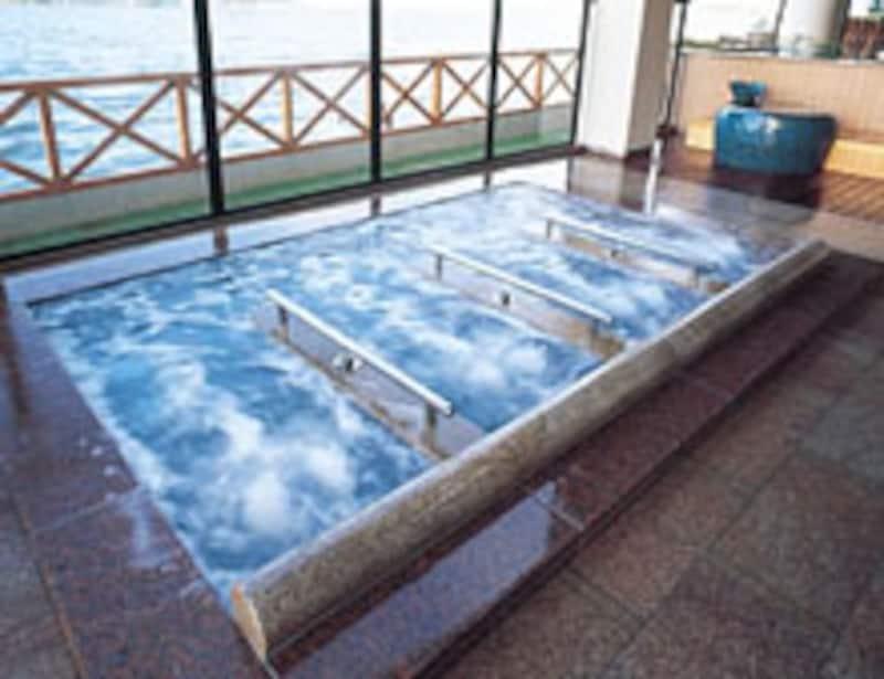 加賀観光ホテルの寝湯