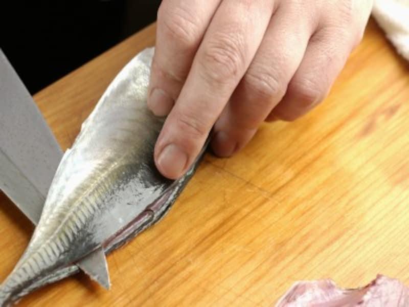 魚のさばき方