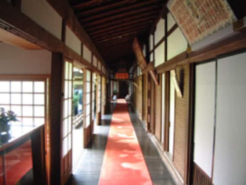 三宝院の廊下
