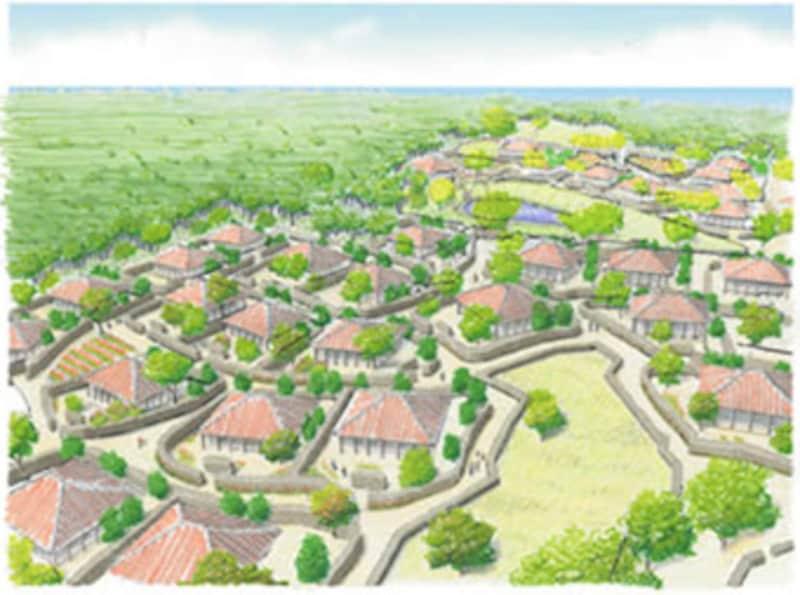 竹富島東部地区開発計画