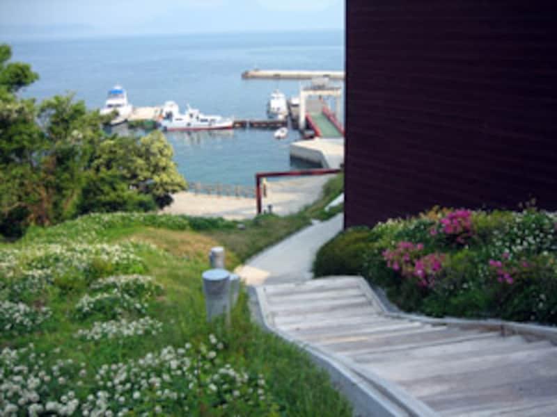 豊島の桟橋