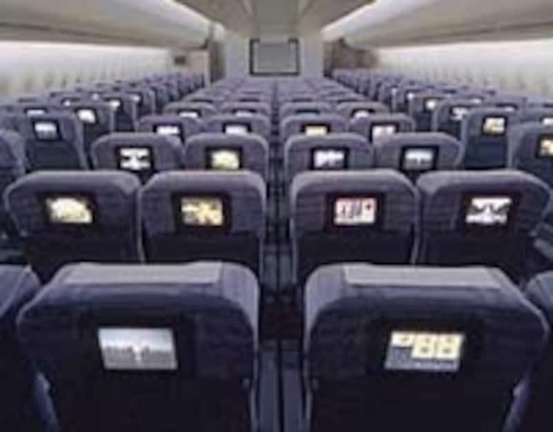 日本航空エコノミークラス