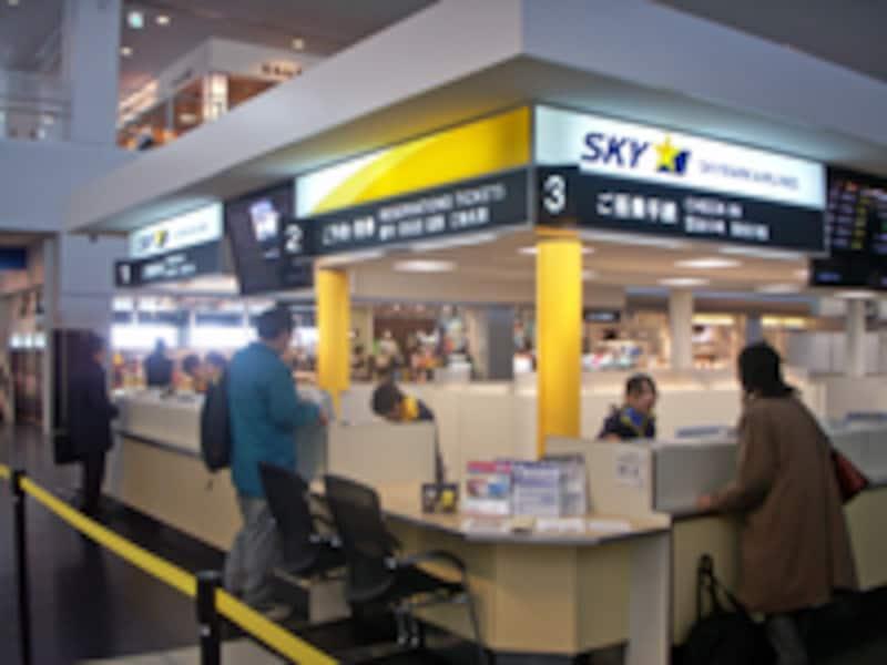 スカイマーク神戸空港