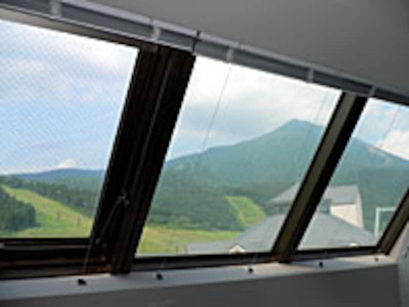 窓からの景観