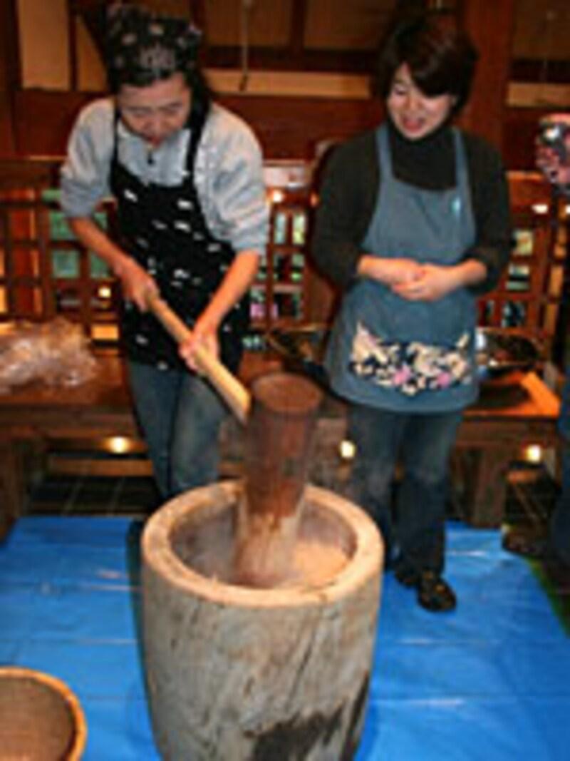 アースガーデン(味噌作り)