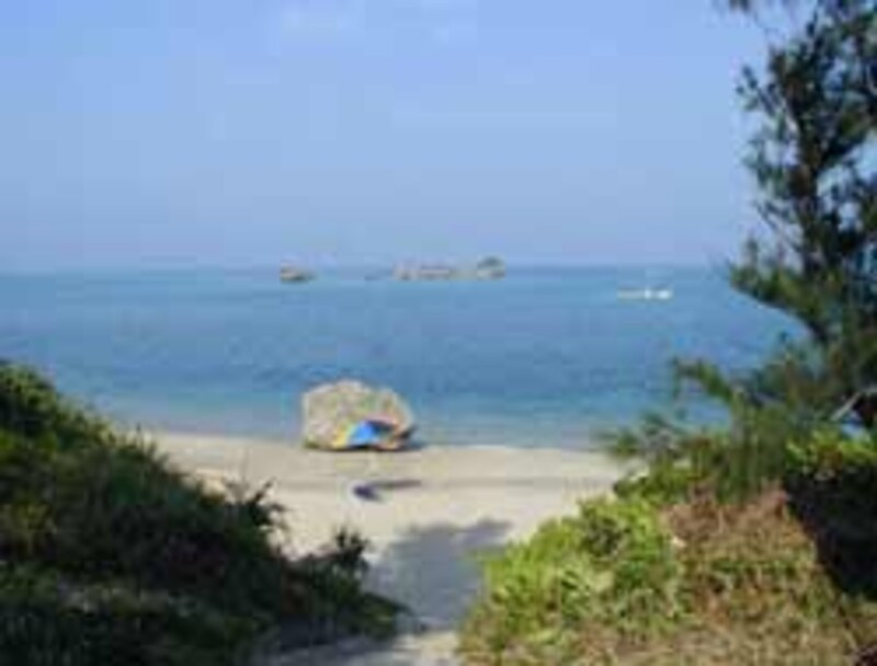 浜比嘉島の海