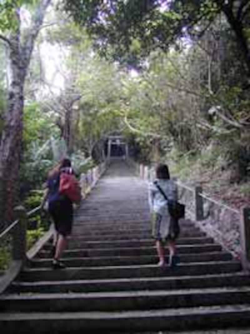シルミチュー霊場の石段