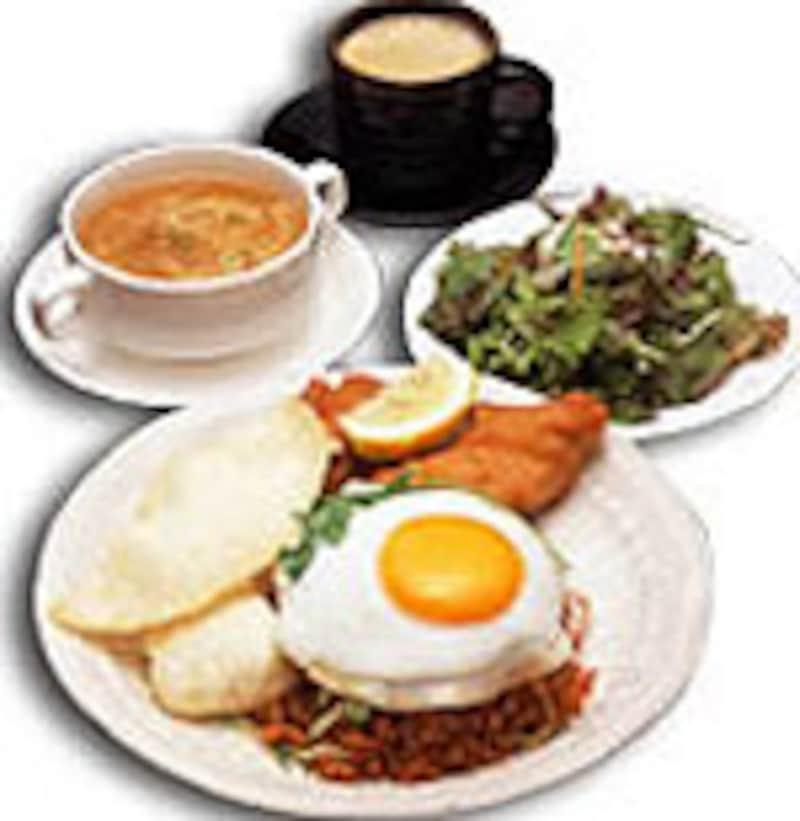 アジア食堂の看板メニュー「ナシゴレン」