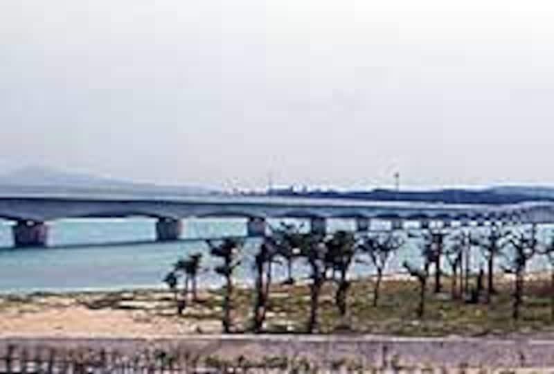古宇利大橋の景観