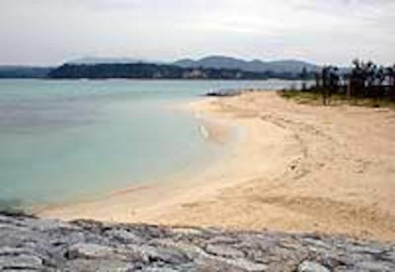 古宇利島の景観