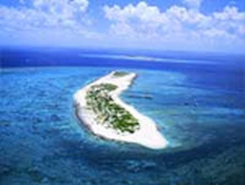 ナガンヌ島の全景