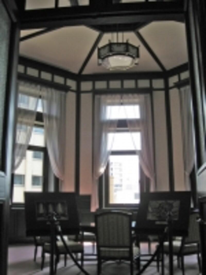一般公開日のみ見学できる2階「特別室」
