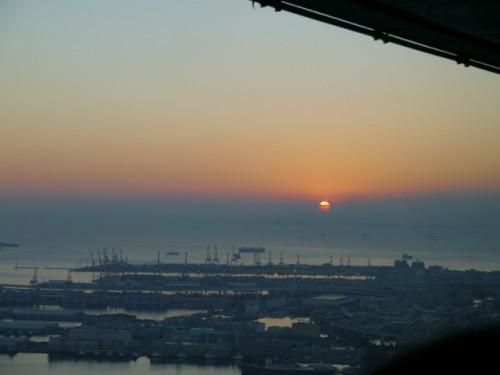 横浜 初日の出 絶景 横浜ランドマークタワー スカイガーデン