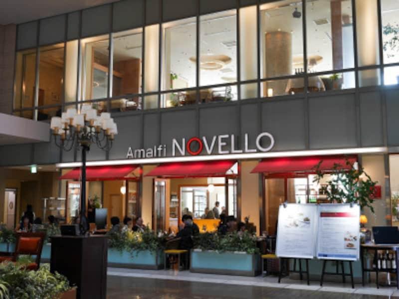 2008年3月のキュービックプラザ新横浜開業時からある「AmalfiNOVELLO」(2019年2月17日撮影)