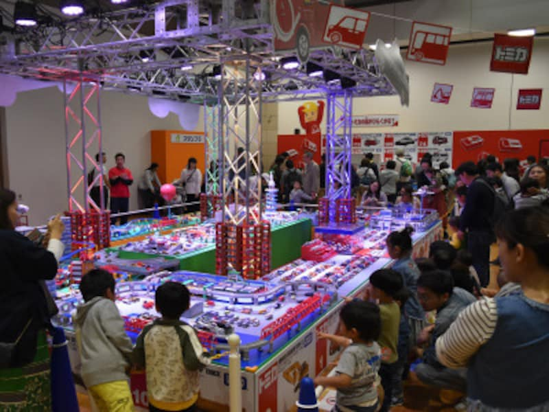 トミカ博ならではの「巨大ジオラマ」が今年も登場 ※画像はイメージ(画像提供:広報部)