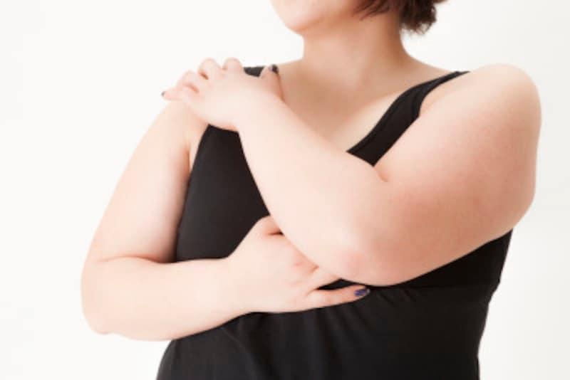 「背中」「二の腕」「フェイスライン」。この3パーツについた脂肪はオバサン体型の証!!