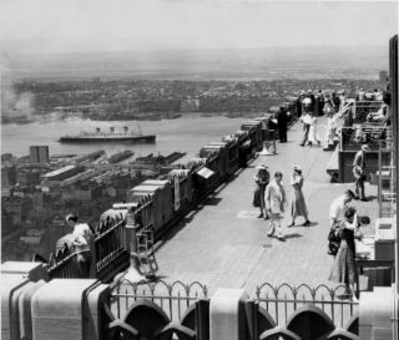 30年代の展望台