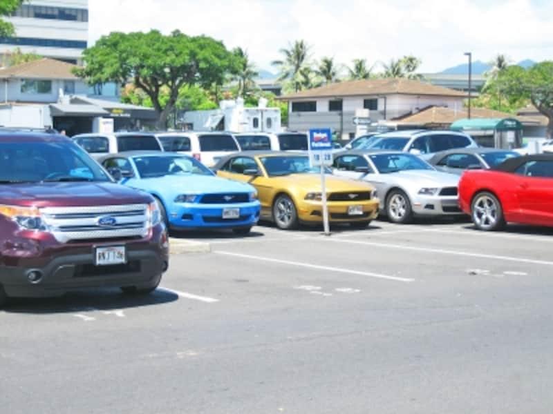 ハワイの営業所でのレンタカーの借り方・返し方