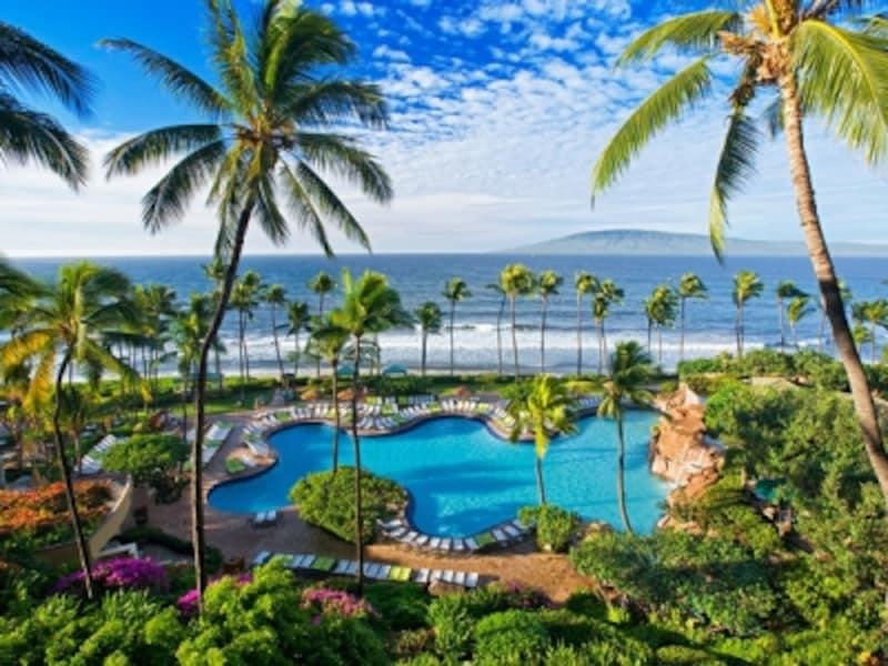 ファミリー向けのアクティビティが豊富なカアナパリの老舗ホテル、ハイアットリージェンシーマウイリゾート&スパ