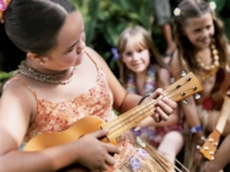 ハワイの伝統文化も学べるキャンプ・ハイアット