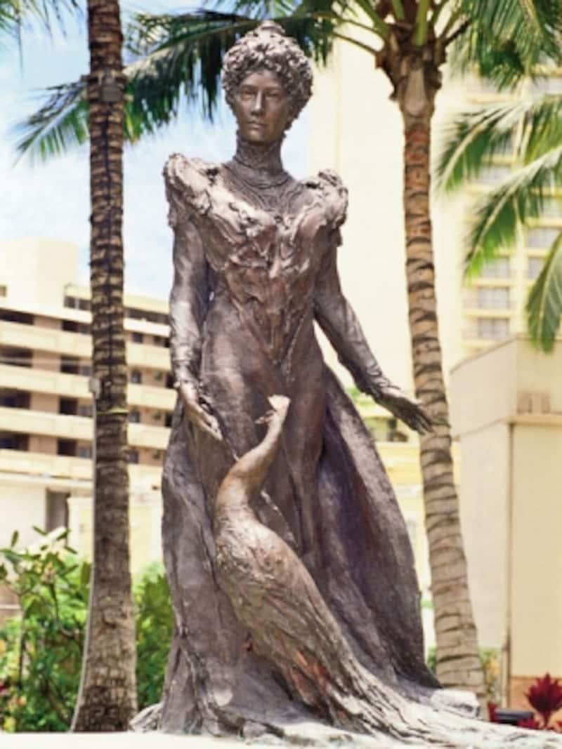 その美貌と聡明さで、ハワイの誰からも愛されたプリンセス・カイウラニ((写真提供:HawaiiTourismAuthority(HTA)/ChuckPainter)