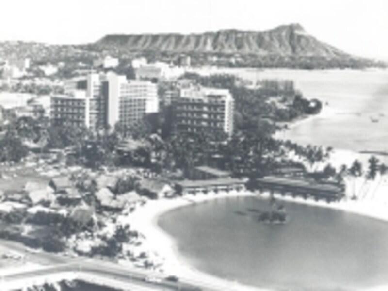 1958年頃のラグーンの様子