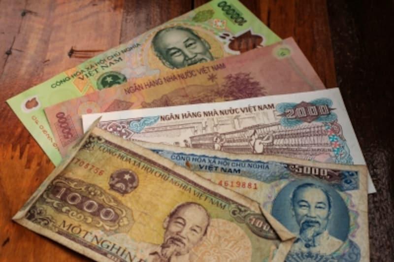 ベトナム紙幣ドン