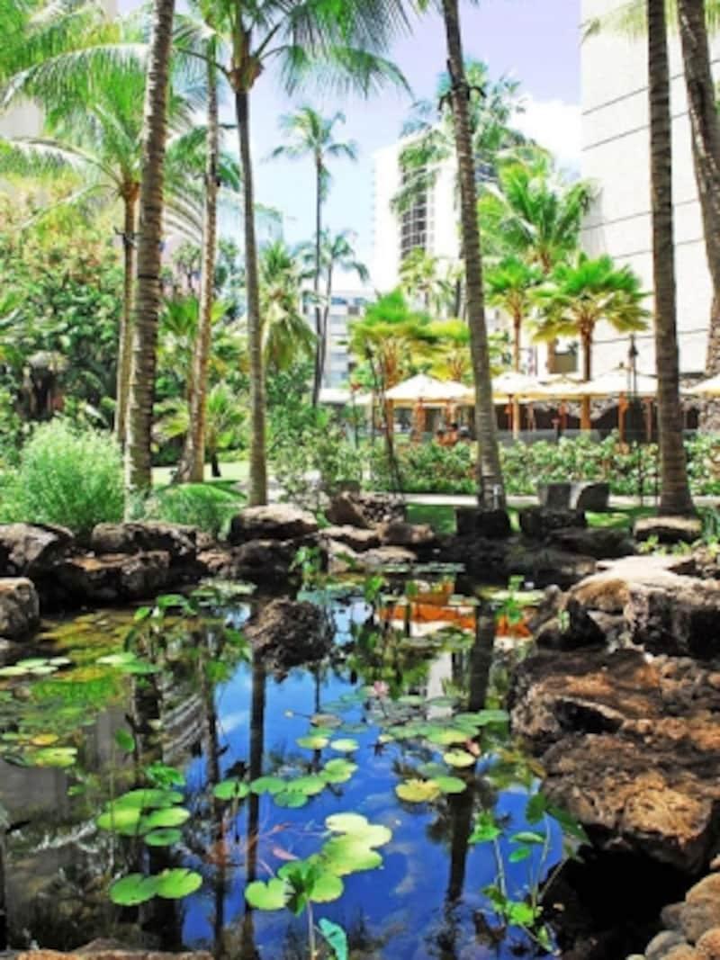 「王家の庭園」という名を持つロイヤル・グローブは、ワイキキのオアシス