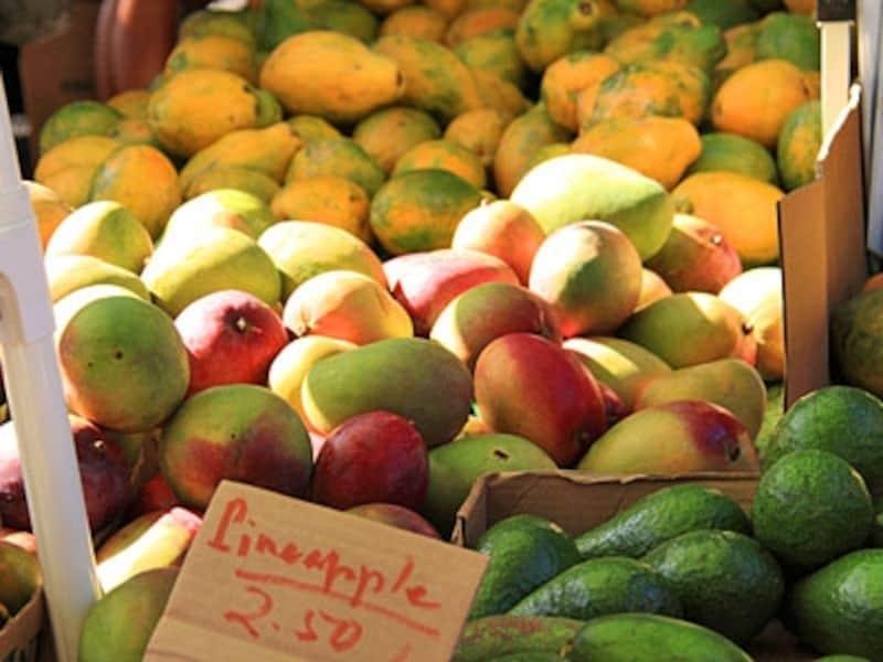 もぎたてのトロピカルフルーツが格安で味わえます