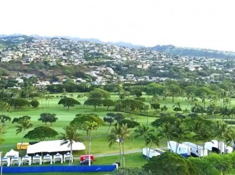 ソニー・オープンが開催されるワイアラエCC