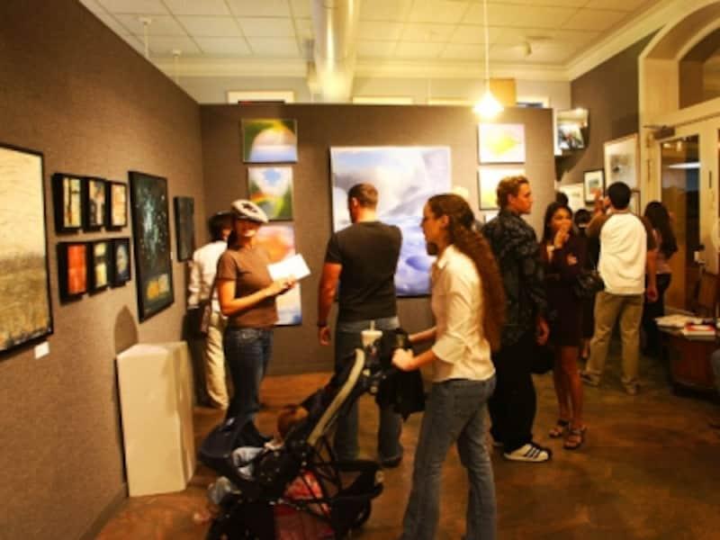 約30のギャラリーと40軒ものレストランがイベントに参加する