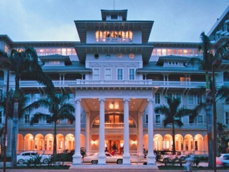 アメリカの歴史的建造物に登録されている、モアナ・サーフライダー・ウェスティン・リゾート&スパのヒストリック・バニヤン・ウィング