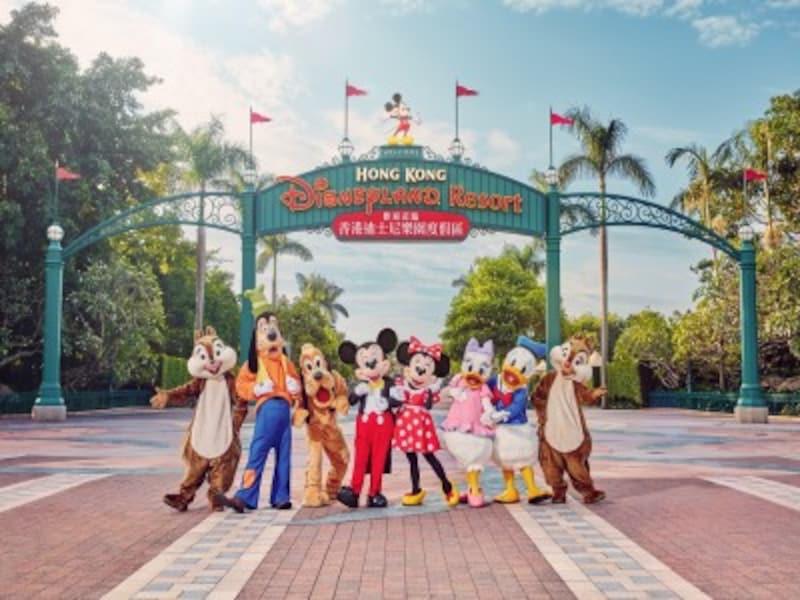香港ディズニーランドは家族連れでも楽しめるおすすめ観光スポット