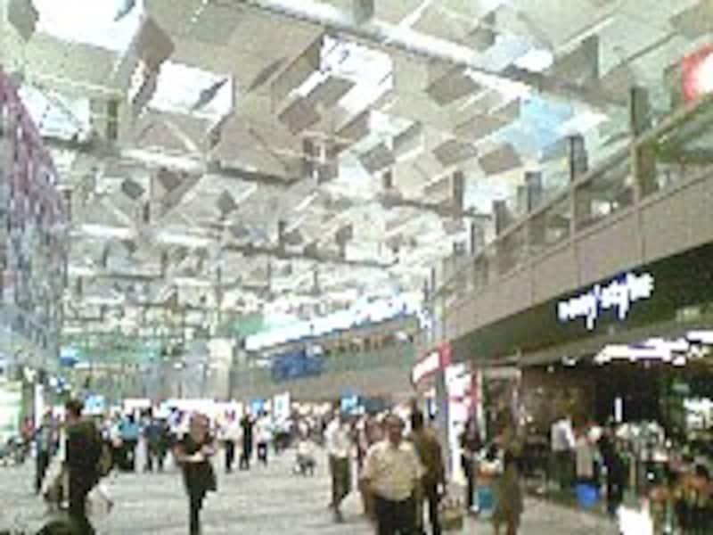 ターミナル3のショッピングモール