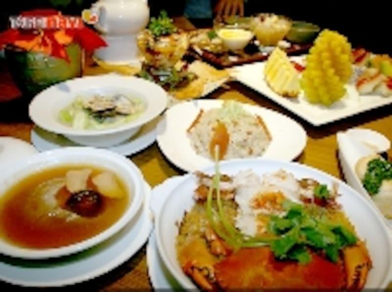 台湾料理の数々
