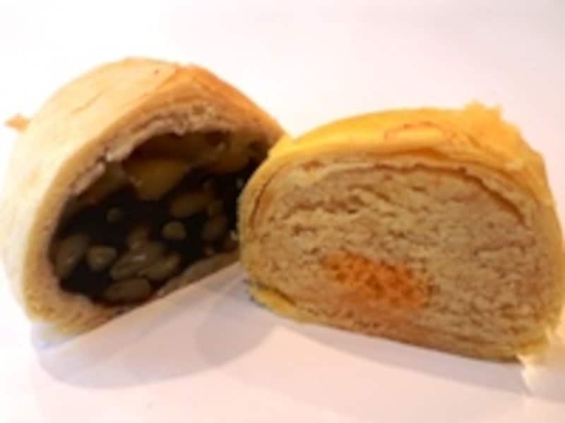 棗泥松子酥と?黄小月餅