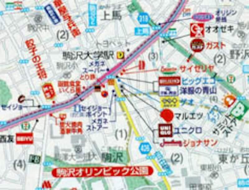 ロードサイドマップ