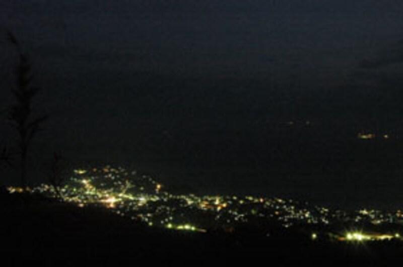 星ヶ山の夜景
