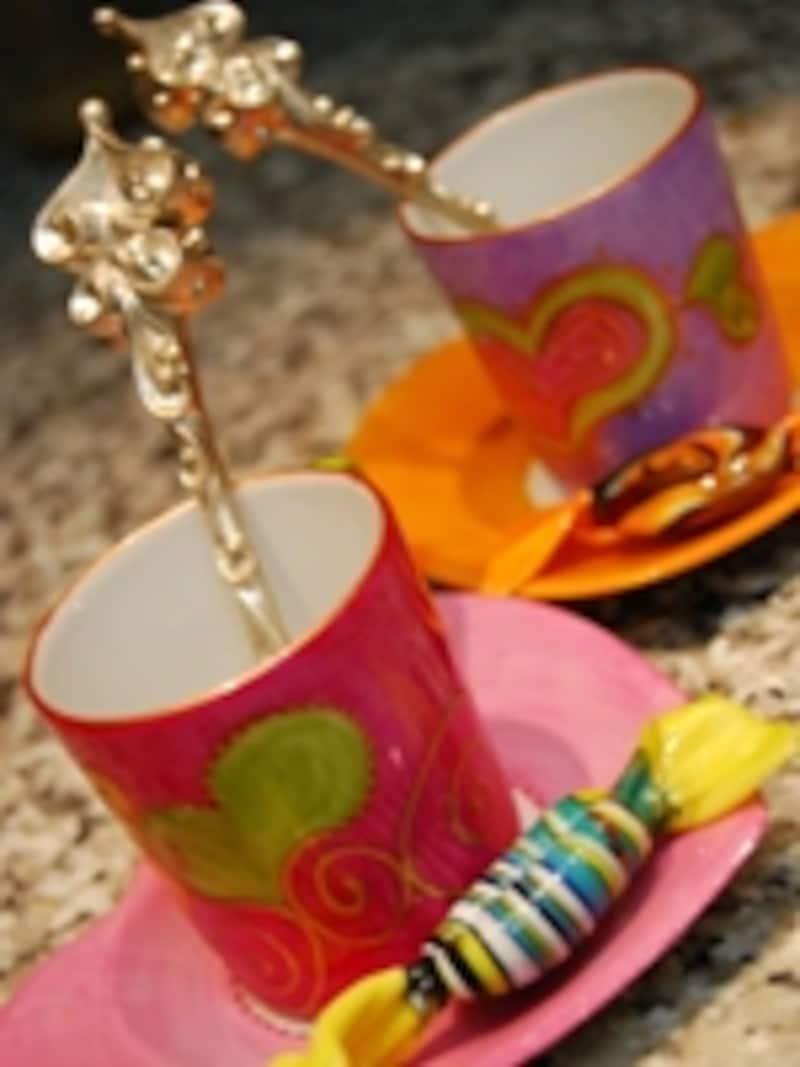 パッチで買えるリモージュ焼きスジークのアラビアンナイト・コレクション<br>