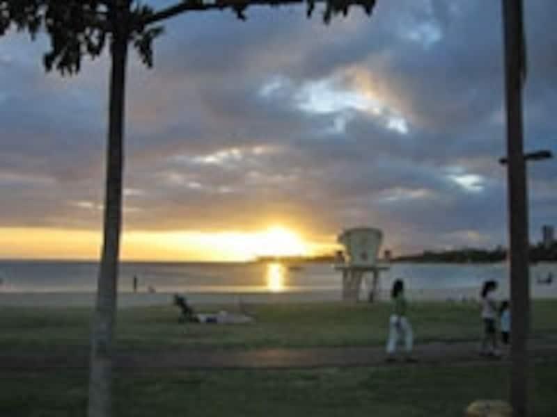 美しい夕陽が観れる穴場スポット