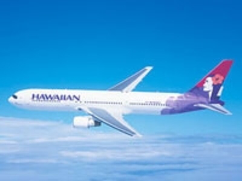 ハワイ島間の移動でおなじみのハワイアン航空が日本各地へ乗り入れ