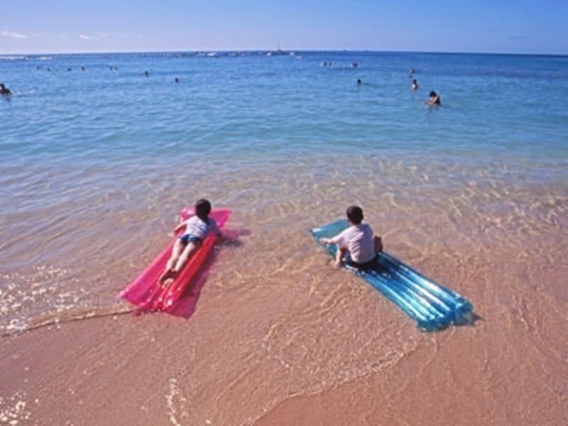 子供たちが大好きなビーチ&プール遊びにも知っておきたいマナーやルールがあるんです